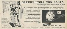 W1827 Orologio TISSOT Visodate - Pubblicità 1958 - Vintage Advertising