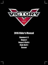 Victory Owners Manual Book 2016 High-Ball