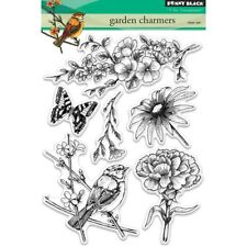 "Penny Black Clear STAMPS 5""x7"" Sheet - Garden Charmers"