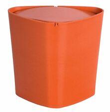 Spirella Trix eco cubo de basura cubo de cosméticos NARANJA