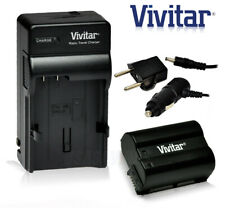 Battery and Charger Kit EN-EL15 2500mAh for Nikon Cameras D7000 D600