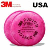 3M 2091CN P100 Particulate Filter  6000 7000 Series