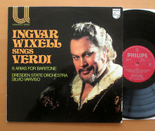 Philips 6580 171 Ingvar Wixell Sings Verdi 8 Arias for Baritone 1976 EXCELLENT
