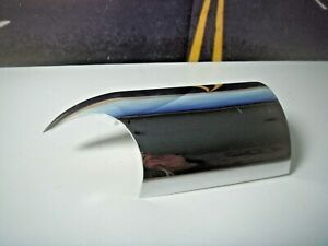 Chrome Exhaust Shield From Rush 8040-225 2 Into 1 System Harley Sportster  E4