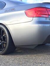 Rear Carbon Fiber Bumper Splitters Fits BMW E90 E92 F30 F80 335i M3 M4 Diffuser