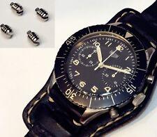 Set of 4 Case Back Screws Heuer Bund 3H  Chronograph Watch