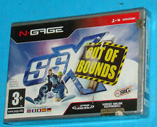 SSX Out of Bounds - Nokia N-Gage NGage - PAL New Nuovo Sealed