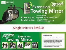 Towing Mirrors FLAT Glass - Caravan Wing Mirror 1 X EM610