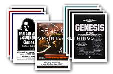 Genesis - 10 promotion poster - sammelbar postkarte set # 1