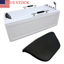1X Black Bath Spa Pillow Cushion Neck Back Support Comfort Bathtub Tub Headrest