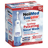 Neilmed Sinugator Cordless Pulsating NasalWash with 30 Premixed Packets