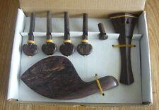 Nice rose Wood Violin Parts / Violin Fitting 4/4 size