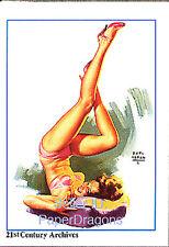 HOLLYWOOD PIN-UPS - Marilyn Monroe Chase Card M2 - Earl Moran