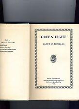 GREEN LIGHT, LLOYD DOUGLAS, 1ST ED 1935. SIGNED BY AUTHOR- HB. VG+