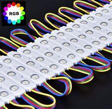 200pcs RGB 5050led injection Module letter Channel design Sign Store front light