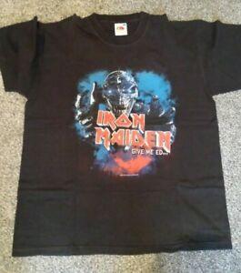 Iron Maiden Ed Hunter Tour Event Shirt Donington XL