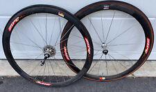 Zipp 303 Road Bike Wheelset 700c Carbon Tubular Shimano 11 Speed