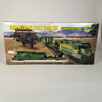Athearn 1999 John Deere HO Scale Collectors Edition Train Set W/ Farm Equipment