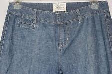 Women's White House Black Market Blanc Cotton Lightweight Denim Jeans in Size 0