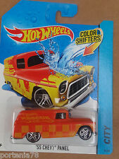 Hot Wheels Color Shifters #14 55 CHEVY PANEL