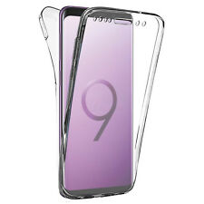 COVER PER SAMSUNG S9 / S9+ PLUS FULL BODY 360 FRONTE RETRO CUSTODIA TRASPARENTE