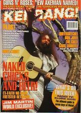 Jim Martin on Kerrang Cover 1994     Red Hot Chili Peppers     Pantera