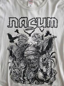 Nasum Deathrite T Shirt Death Metal Medium Grindcore USED Carcass Bolt Thrower