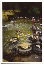 Kids swimming, Cocody, Côte d'Ivoire, 1990 - Original Photo by José Nicolas