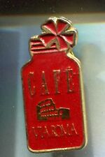 RARE PINS PIN'S .. ALIMENT FOOD CAFE COFFEE POT ARENES VIA ROMA ITALIE ~CR