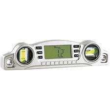 Winkelmesser: Digitale 2in1-Wasserwaage mit vielen Profi-Extras (Neigungsmesser)
