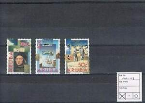 Aruba postfris 1992 MNH 110-112 - Ontdekking van Amerika