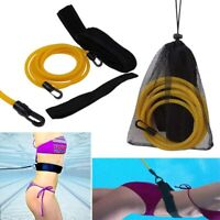 POOL Swim Sports Resistance Tether, Swim Pool Training Leash Swim Training Belt