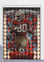Jerry Rice 49ers Men of Mastery Mosaic Prizm MM5 Panini 2020 111020MLCD