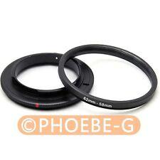62mm 58mm Macro Reverse Adapter Ring for Nikon AF Mount