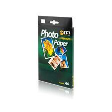 20 FOGLI CARTA FOTOGRAFICA A6 FOTO LUCIDA 120GR STAMPA INKJET GLA612020