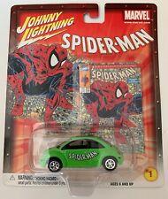 Johnny Lightning Marvel Spider-Man #1 Vw Beetle 1:64,Diecast,Misp (B43)