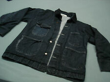 Inmate Jail Prisoner Convict Costume Prison Denim coat Jacket XL 46-48