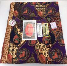 Luxury Batik Sarong Islam Fabric Cotton Muslim Traditional Woman Indonesia Wrap