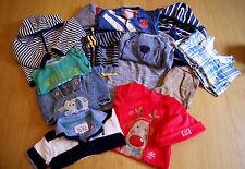 Job lot 11 x articles tailles de vêtements garçons 3 mois - 2 ans-mamas & papas, etc..