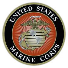 Rund Magnet - Usmc Marine Corp, Semper Fi, Militär - Auto, Kühlschränke