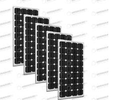 Set 5 x Pannelli Solari Fotovoltaico 300W Europeo 24V tot. 1500W Casa Baita Stan