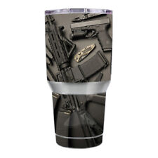 Skin Decal for Ozark Trail 30 oz. Tumbler / EDC AR Pistol Gun Knife Military