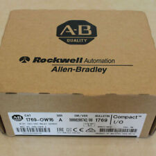 New Factory Sealed AB 1769-OW16 /A CompactLogix Relay Output Module 1769OW16