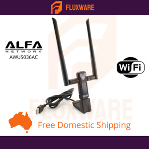 Alfa AC1200 Long Range Dual Band Wireless USB Adapter 1200Mbps - AWUS036AC
