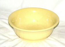 "FIESTA-WARE HLC USA - YELLOW, 9"" SERVING BOWL"