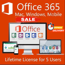 Microsoft office 365 Pro Plus 5 Devices Mac/Win *INSTANT DELIVERY *🔥🔥🔥