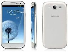 Smartphone Samsung Galaxy S3 III GT-I9300 White-Unlocked Mobile Phone 16GB