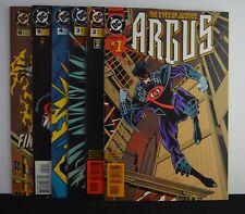 ARGUS #s: 1,2,3,4,5,6  (DC, 1995)  6 Issue Mini-Series