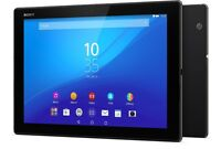 "Sony Xperia Z4 Tablet & Bluetooth Keyboard - 32GB, Wi-Fi + 4G, 10"", Waterproof"