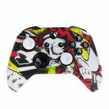 Queen Pattern Silicone Gamepad Cover+2 Joystick Caps For XBox One X S Controller